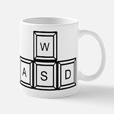 WASD keys Gaming Mug