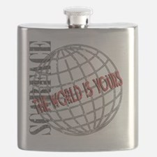 The World Is Yours Flask