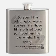 Tutu Good Quote Flask