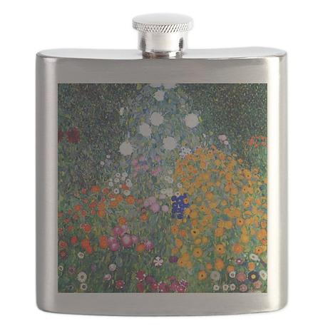 Klimt - Flower Garden Flask