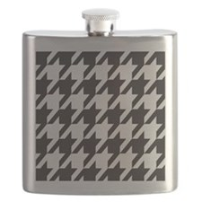 Alabama Houndstooth Flask