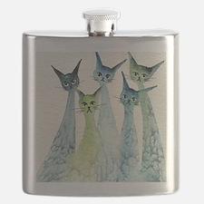 Lakeland Stray Cats Flask