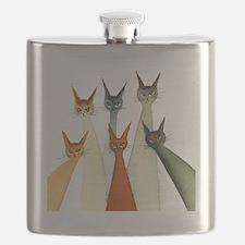 Seville Stray Cats Flask