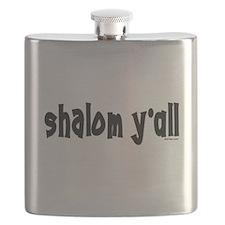 Shalom Y'All Jewish Flask