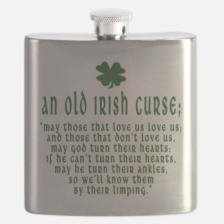 An Old irish curse Flask