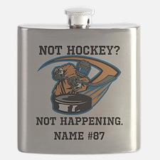 PersonalizedNotHockey Flask