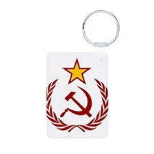 HAMMER SICLE THE STAR Keychains