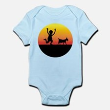 NEW GOAT SILHOUETTE.png Infant Bodysuit