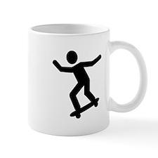 Skateboarding icon Mug