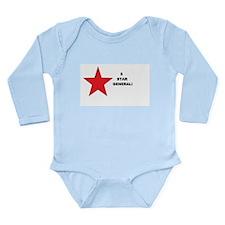 5 Star General Long Sleeve Infant Bodysuit