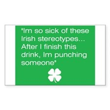 Irish Stereotype Decal