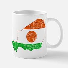 Niger Flag And Map Mug