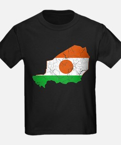 Niger Flag And Map T