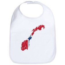 Norway Flag And Map Bib