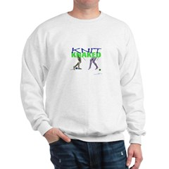 Knit Knaked Sweatshirt