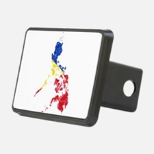 Philippines Flag And Map Hitch Cover