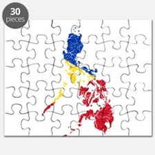 Philippines Flag And Map Puzzle