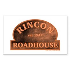 Rincon Roadhouse Rectangle Decal
