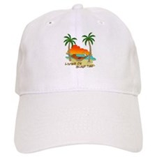 Living on Island Time Leisure Baseball Cap