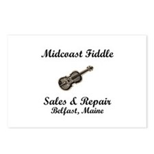 Fiddle Postcards (Package of 8)