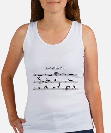 Melodious Cats Women's Tank Top
