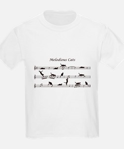 Melodious Cats T-Shirt