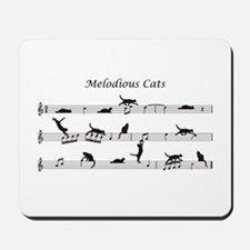 Melodious Cats Mousepad