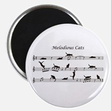 Melodious Cats Magnet