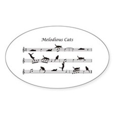 Melodious Cats Decal