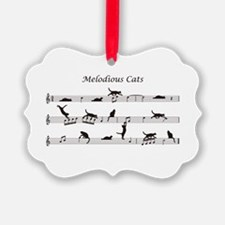 Melodious Cats Ornament