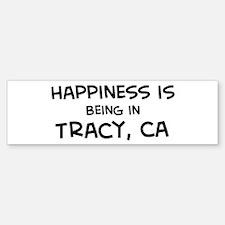 Tracy - Happiness Bumper Bumper Bumper Sticker