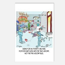 Two-Second Rule in the OR Postcards (Package of 8)