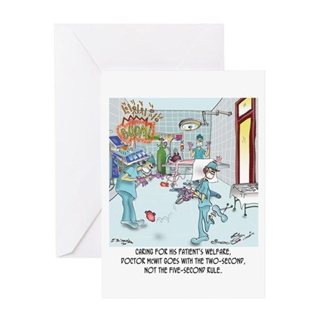 Two-Second Rule in the OR Greeting Card