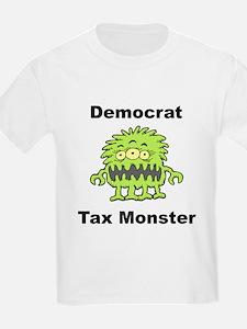 Democrat Tax Monster Kids T-Shirt