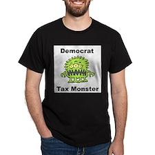 Democrat Tax Monster Black T-Shirt