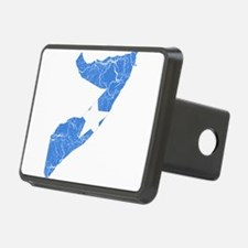 Somalia Flag And Map Hitch Cover