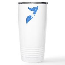 Somalia Flag And Map Thermos Mug