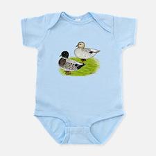 Snowy Call Ducks Infant Bodysuit