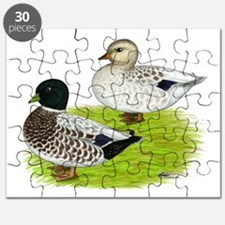 Snowy Call Ducks Puzzle