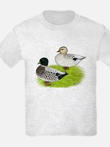 Snowy Call Ducks T-Shirt