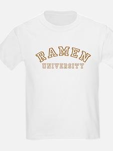 Ramen University Kids T-Shirt