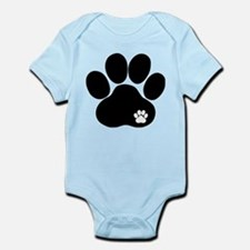 Double Paw Print Infant Bodysuit
