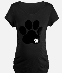 Double Paw Print T-Shirt
