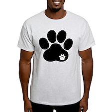 Double Paw Print T-Shirt