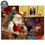 Santas Airedale Puzzle