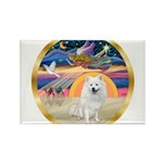 XmasStar/Am Eskimo #1 Rectangle Magnet (10 pack)