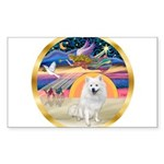 XmasStar/Am Eskimo #1 Sticker (Rectangle 50 pk)