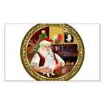 Santa's Am Eskimo #5 Sticker (Rectangle 10 pk)