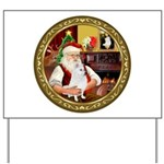 Santa's Am Eskimo #5 Yard Sign