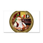Santa's Am Eskimo #5 Rectangle Car Magnet